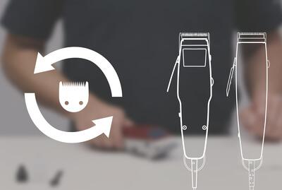 Cuidado de Lâminas -MOSER Typ 1400 / 1230